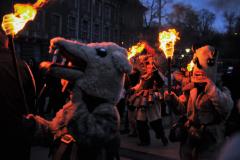 Кукери и огньове на фестивала Сурва в Перник. Снимки: ToGood Photos
