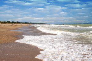 плажът Крапец