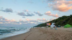 плажът Иракли